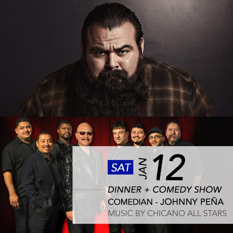 Comedian Johnny Peña and The Chicano All Stars Band