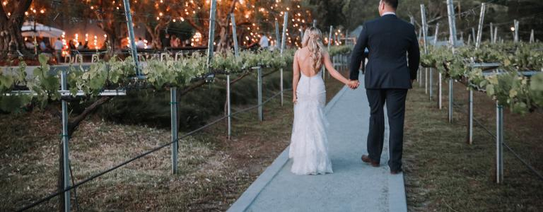 Sycamore Creek Vineyard wedding
