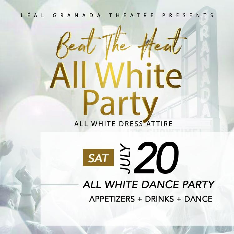 All White party at Granada